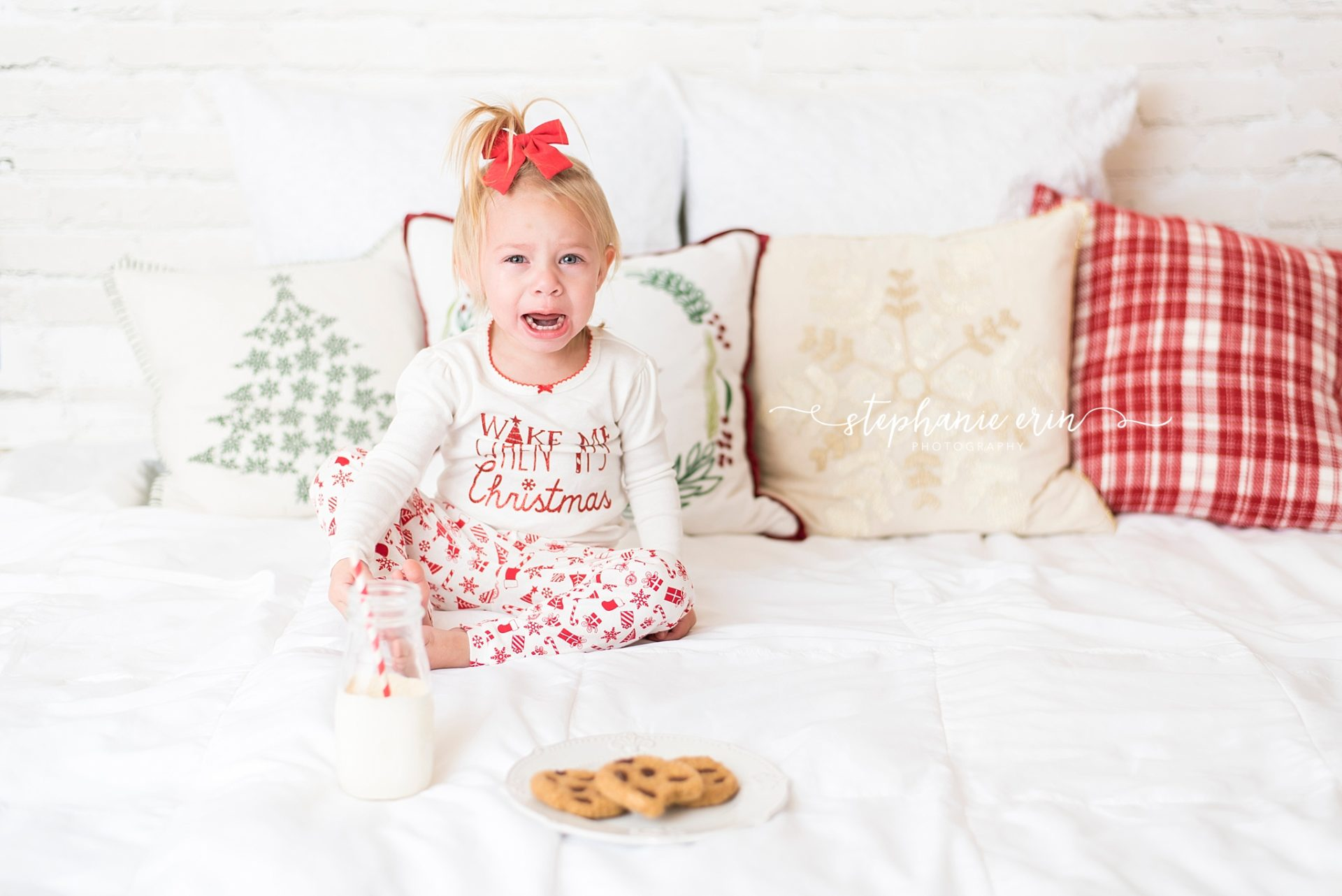 Addi & Emmi | Cookies & Milk | Stephanie Erin Photography | Southern Utah Newborn Photographer