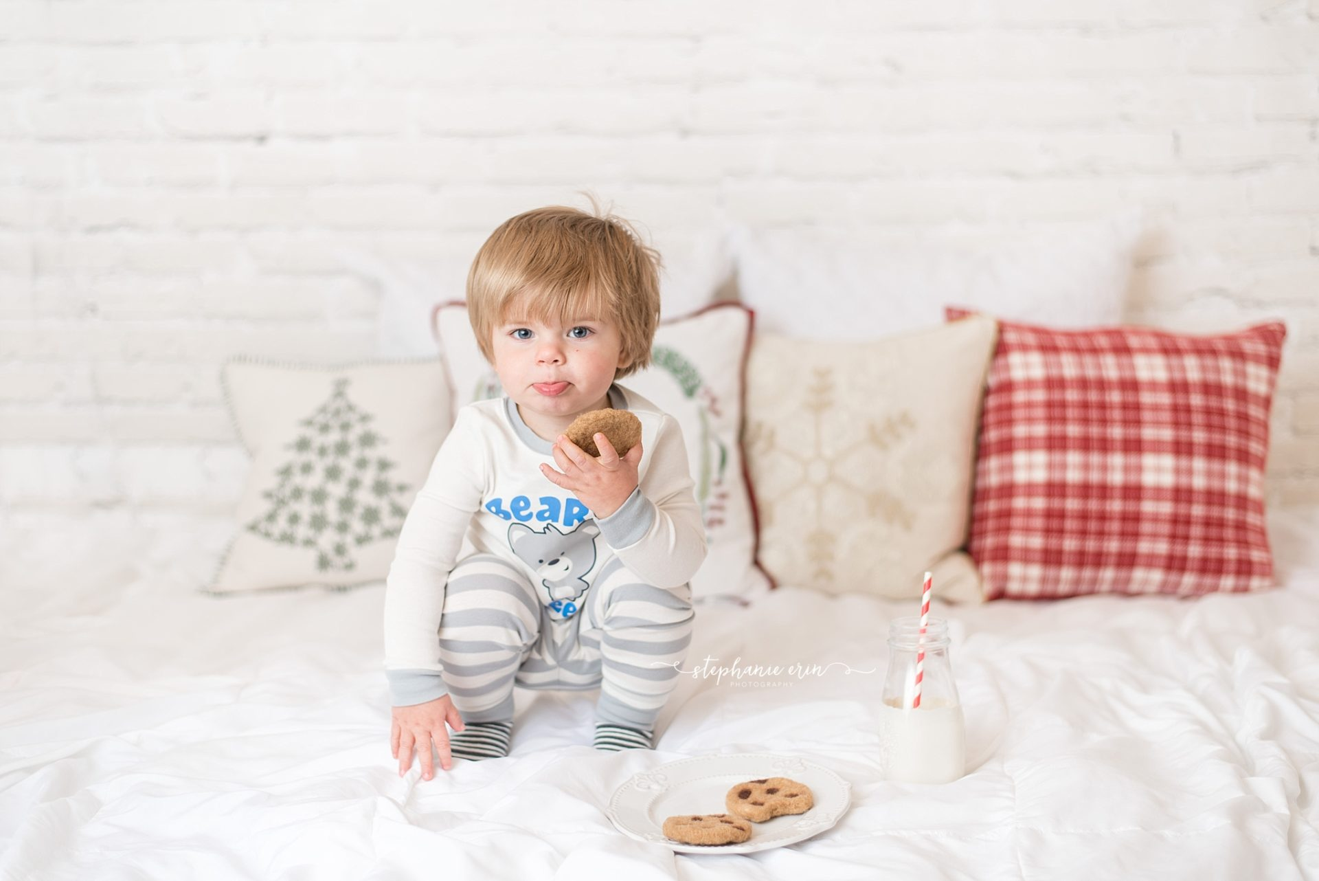 Linken | Cookies & Milk | Stephanie Erin Photography | Southern Utah Newborn Photographer