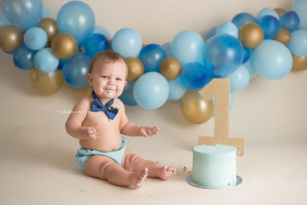 st george utah newborn photographer, st george utah cake smash photographer, utah photography studio, utah photographer