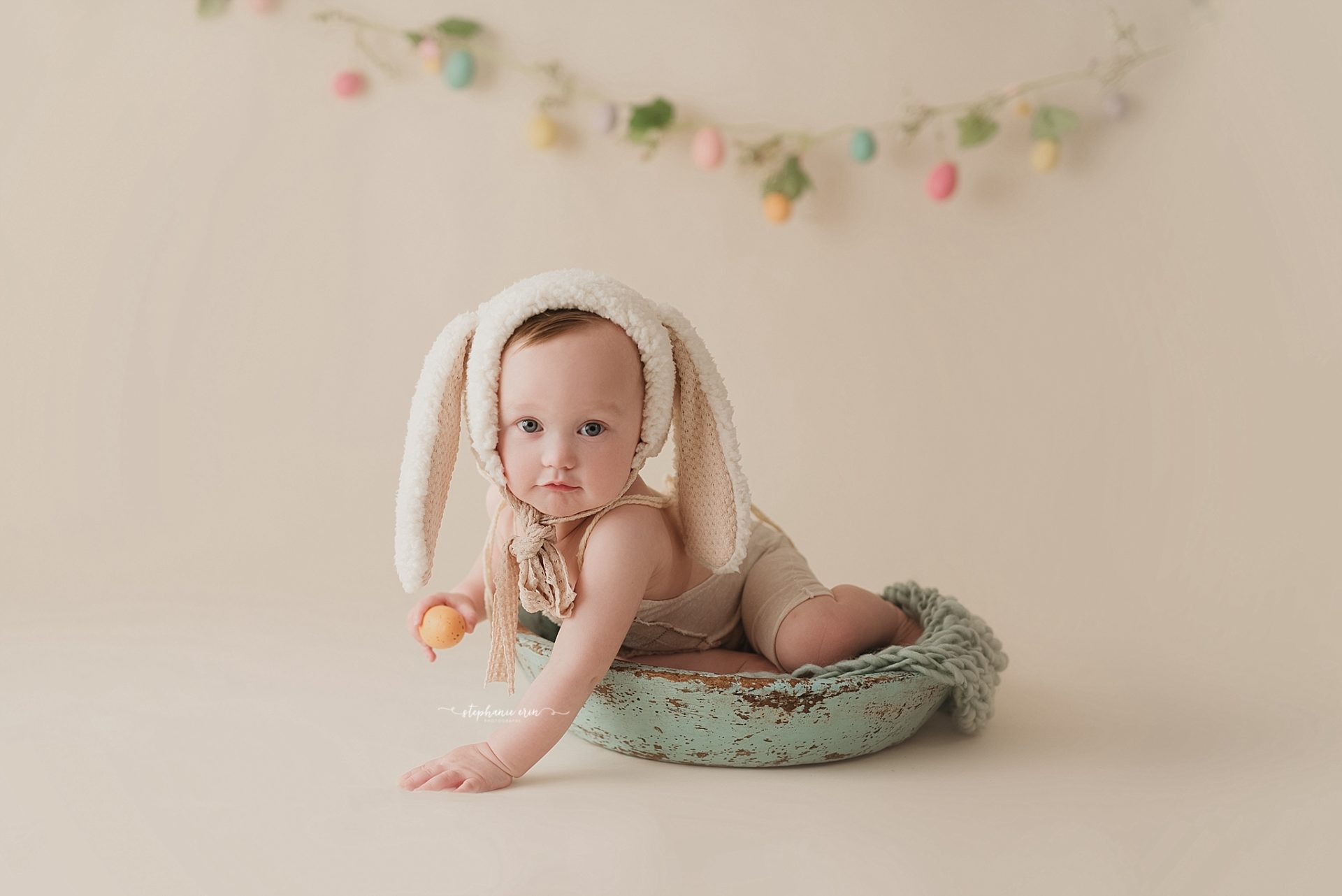 Cohen Easter Photography Session | St George, Utah Newborn Photographer + Southern Utah Newborn Photography Studio | Stephanie Erin Photography