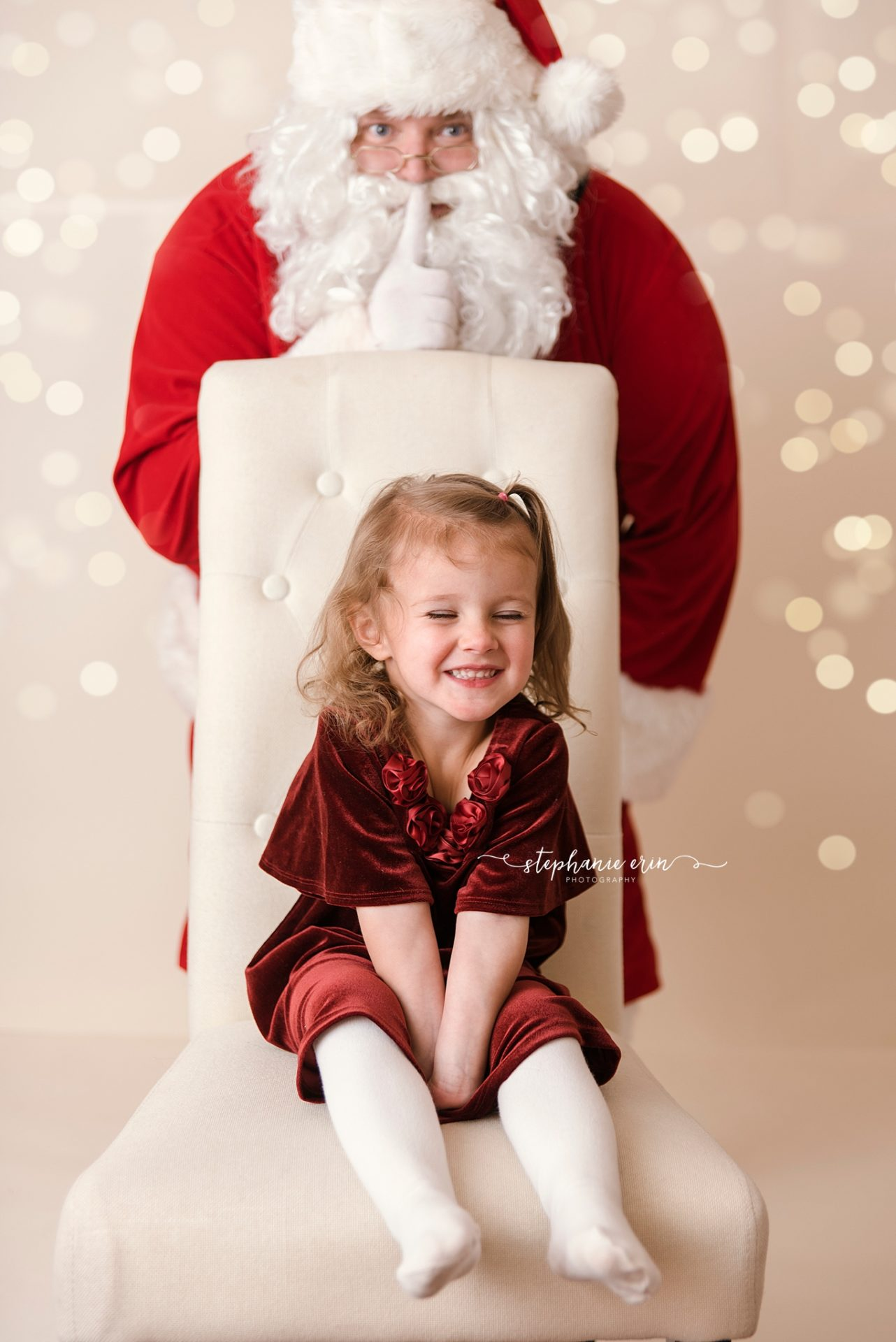 Santa is coming to town & YOU'RE on the nice list… | Stephanie Erin Photography | Southern Utah Newborn Photographer