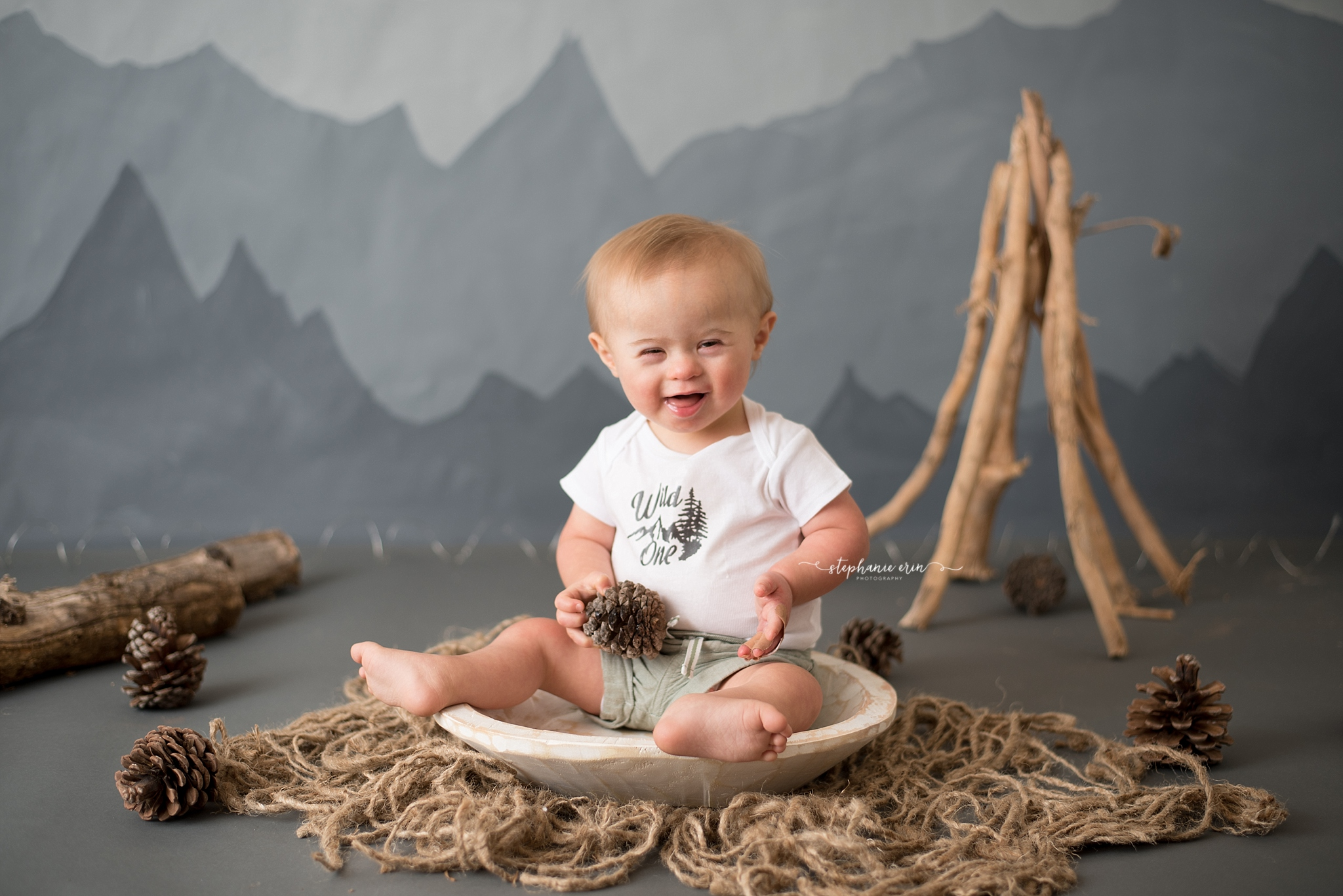 St George, Utah's Best Newborn Photographer | Stephanie Erin Photography { Oliver is ONE! }