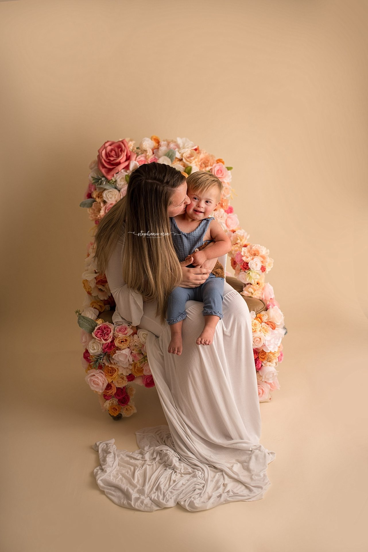 St George, Utah Newborn Photographer + Southern Utah Newborn Photography Studio | Oliver Mommy + Me Session