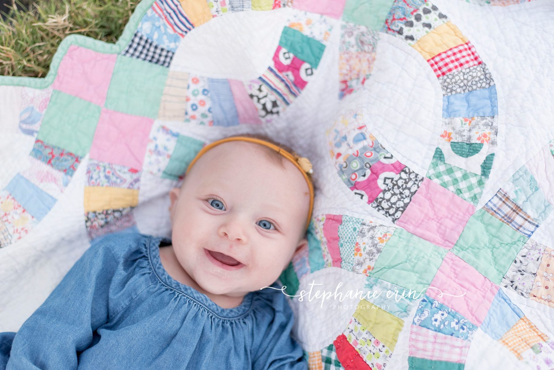 ELLIE'S MILESTONE SESSION  |  STEPHANIE ERIN PHOTOGRAPHY  |  ST GEORGE UTAH NEWBORN PHOTOGRAPHER