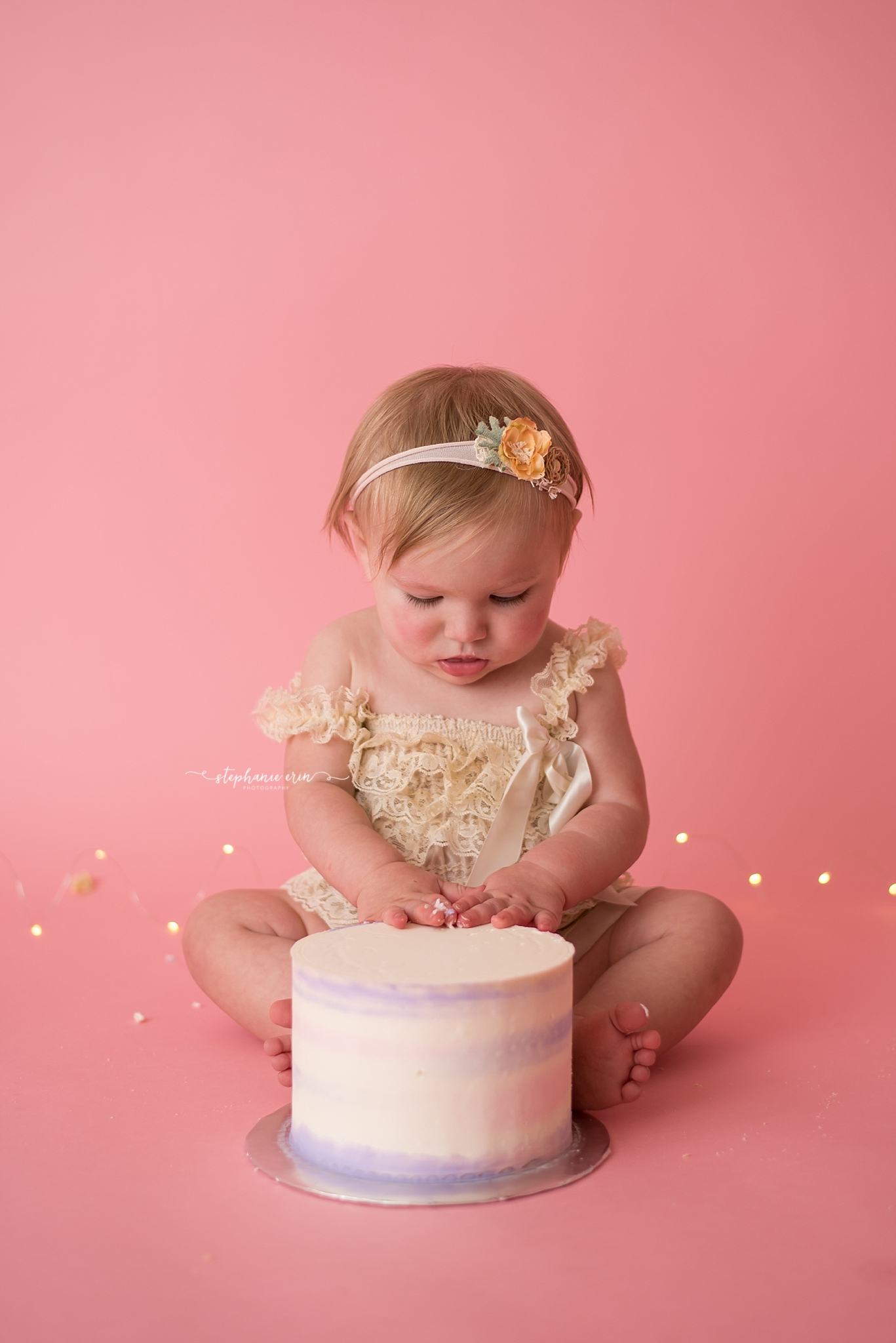 Addie is ONE! | St George, Utah's Best Newborn Photographer | Stephanie Erin Photography