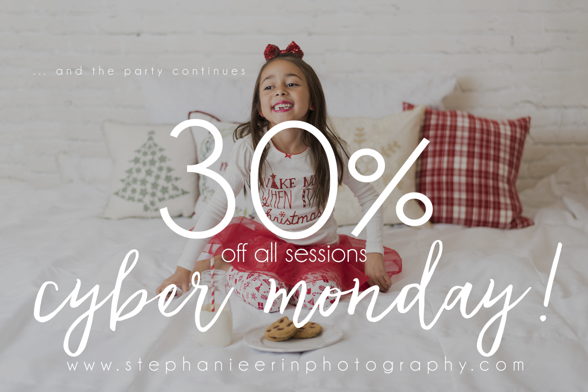 Here is your CYBER MONDAY discount code | STEPHANIE ERIN PHOTOGRAPHY | ST GEORGE UT NEWBORN PHOTOGRAPHER
