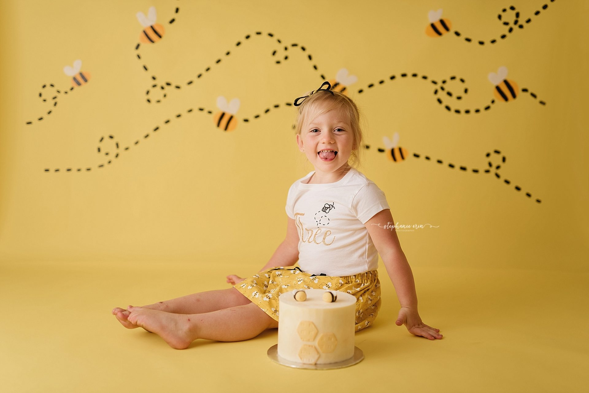 Jayde's Cake Smash Photography Session | St George, Utah Newborn Photographer + Southern Utah Newborn Photography Studio | Stephanie Erin Photography