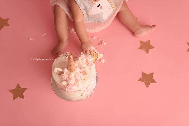 St George, Utah's Best Cake Smash Photographer, Best Utah Newborn Photographer