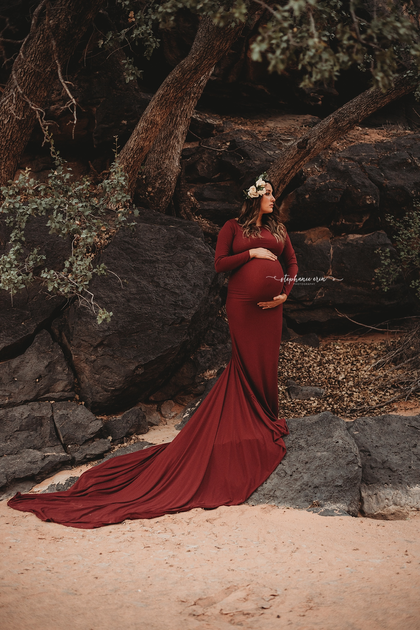 St George, Utah's Best Newborn Photographer | Stephanie Erin Photography { Maternity Gowns – All the colors! }
