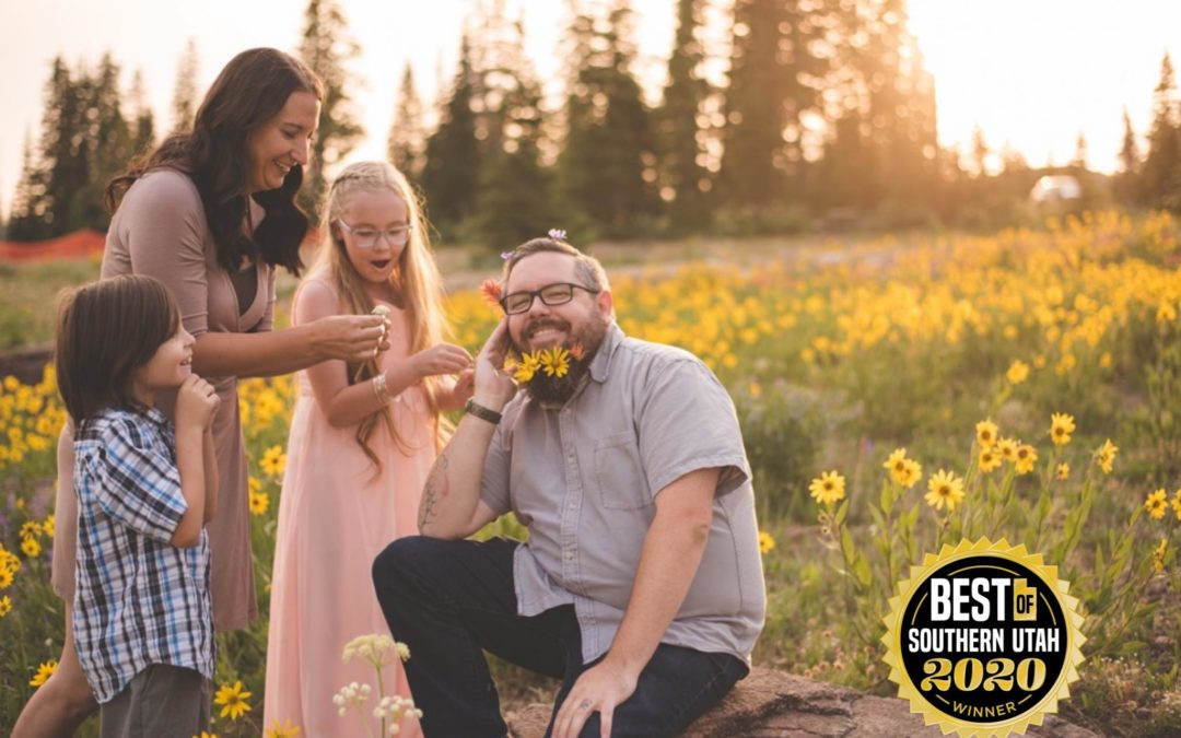 Best Photographer in Southern Utah Winner: Thank YOU for voting!